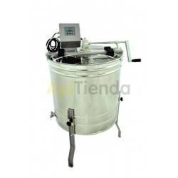 Extractor reversible 4 cuadros Dadant manual-eléctrico Optima
