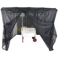 Extractor 4 c universal con cubeta desopercular, eléctrico Classic + tienda de campaña