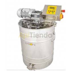 Mezclador de miel en crema 50L con termostato automático