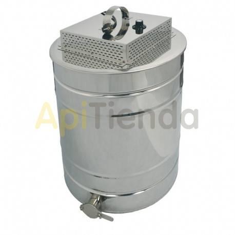 Tapa calefactable con opción fundido de opérculo