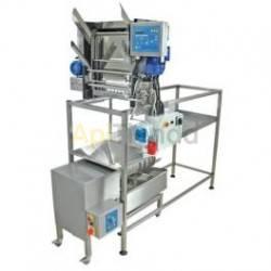 Desoperculadora automática cuchillas con anticongelante + prensa para opérculos 50kg Classic