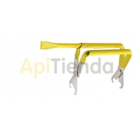 Levantacuadros amarillo
