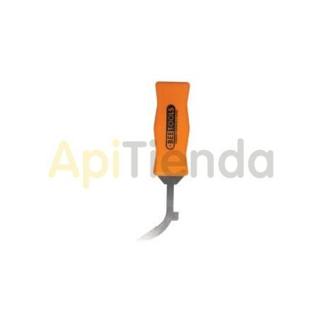 Espátula inox con mango 80 mm
