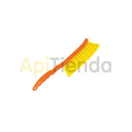 Cepillo corto con mango de plastico y cerda nylonBeetools