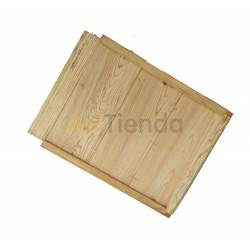 Base de madera, colmena Langstroth/ Dadant