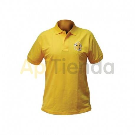 Polo algodon color amarillo