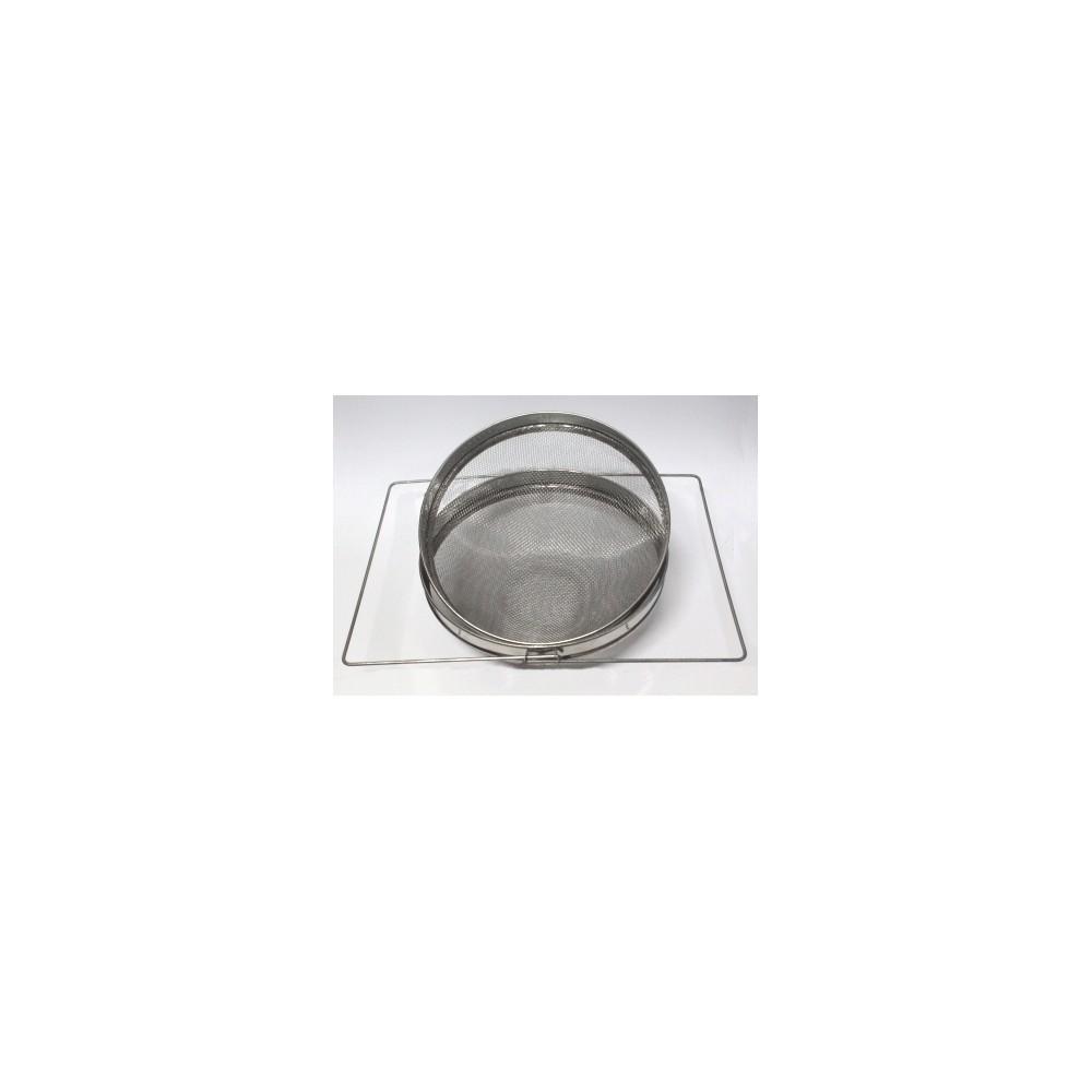 Filtro inox. doble tamiz 300mm Ovalado