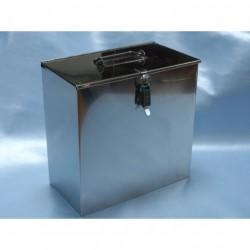 Caja transporte para ahumador chapa galvaniz. Grande