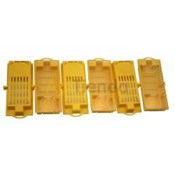 Jaula de plástico amarilla LS