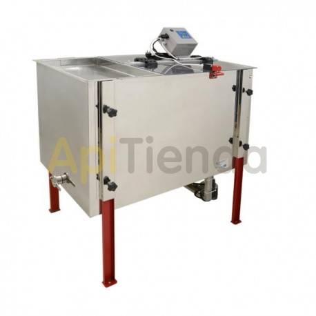 Extractor 4 cuadros universal con cubeta desopercular, eléctrico