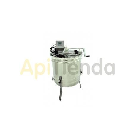 """Extractores Extractor reversible 4 cuadros Dadant manual-eléctrico Optima Este extractor """"Lyson"""" con la capacidad de 4 cuadros D"""