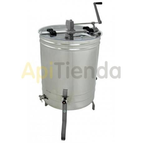 Extractor 4 cuadros Dadant reversible automático