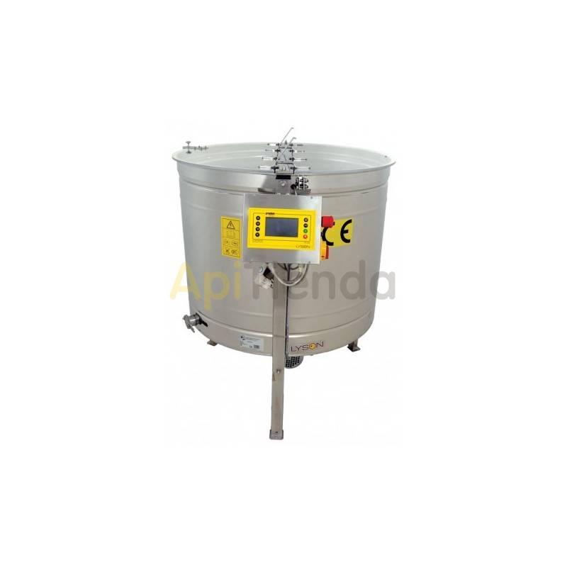 Extractores Extractor radial-reversible 6 cuadros Langstroth Premium Una buena elección. Hace posible usar el extractor tanto de