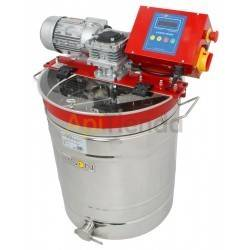 150 L cream honey mixer, Electric stop-marching panel. »March 15 min. »I stop 2 hoursCapacity 150L. 220V or 380V power supplyMad