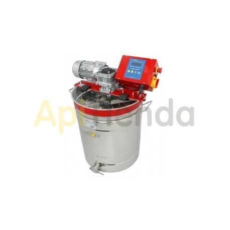 Mezclador de miel en crema de 150L, con termostato automático
