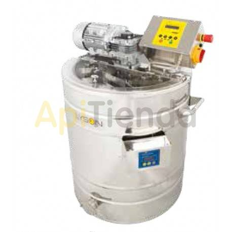 Mezcladores de miel Mezclador de miel en crema 70L calefactable Premium Calefactable. Premium Line Este equipo está diseñado pa