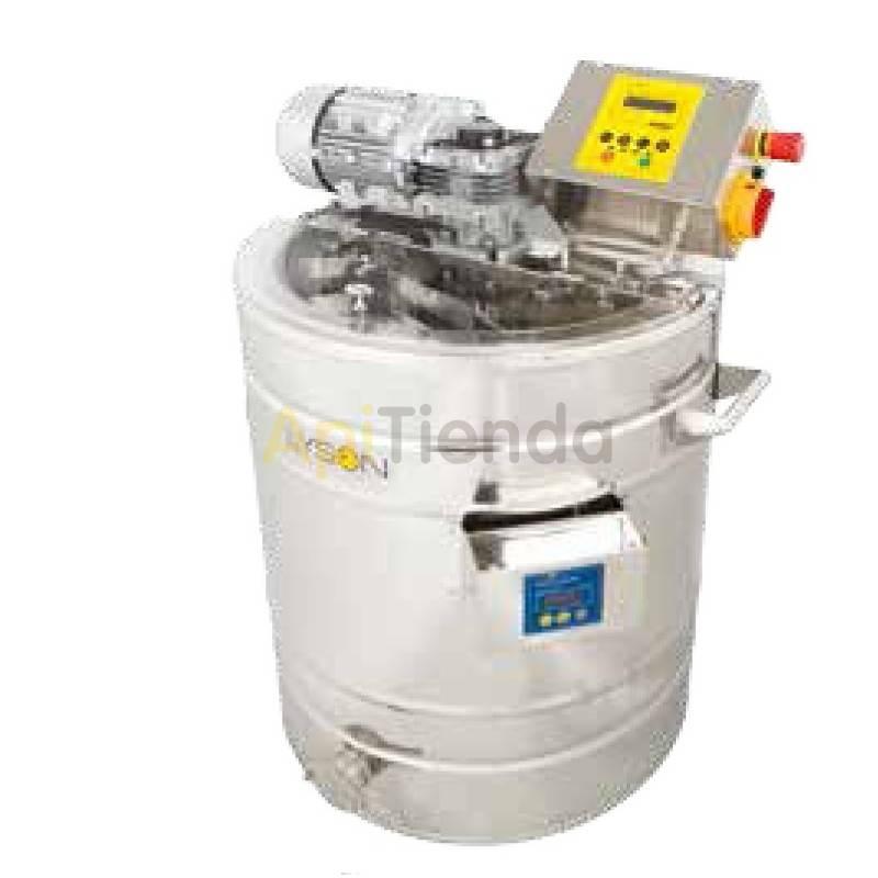 Mezcladores de miel Mezclador de miel en crema 100L calefactable Premium Calefactable. Premium Line Este equipo está diseñado p