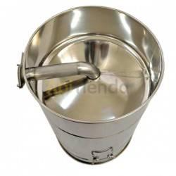Maduradores y cubos  Madurador 30L (aprox. 40kg) Premium Este madurador de miel de 30 litros de línea Premium, tiene un fondo co