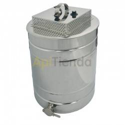 Heated lid with melted operculum option, Heated lid with option - operculum meltSheet:»potency - 1kW»for 150l ripeners»temperatu
