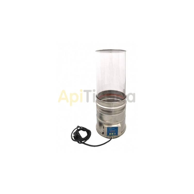 Inicio Madurador transparente con fondo calefactable, 29L Madurador de miel con fondo calefactable Las paredes son transparentes