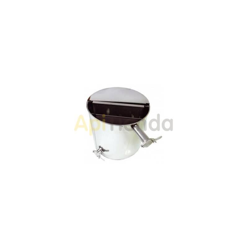 Bancos de decantación Banco decantación redondo  Banco decantación para filtrado de miel Fabricado completamente en acero inox