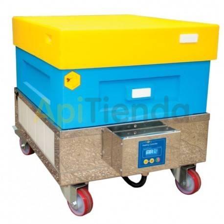 Otro material apícola Calentador de alzas Está diseñado para calentar las alzas con cuadros antes del desopercular y de la extra