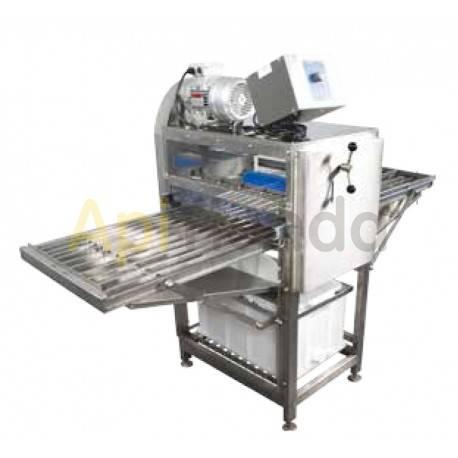 Desoperculadora automática cuchillas eléctricas + prensa para opérculos 50kg Classic