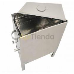 Fundidoras de cera Caldera térmica a vapor Universal Fabricado en acero inox. Caldera térmica a vapor:»Fabricado en acero inoxi