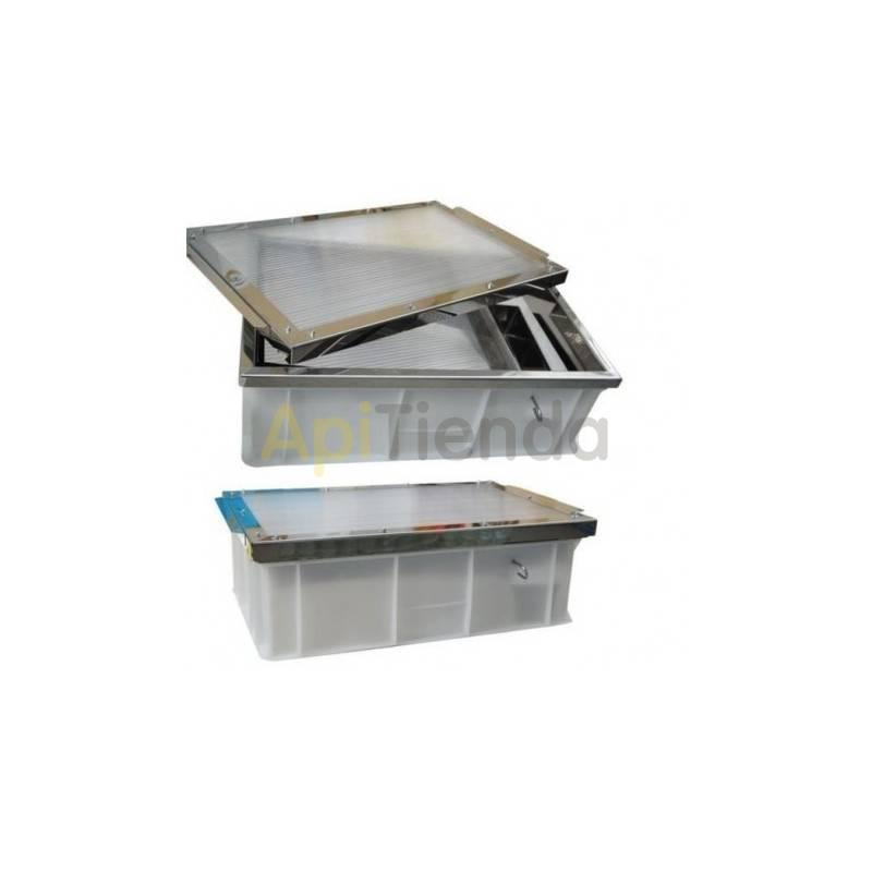 Cerificador solar en acero inoxidable - Grande