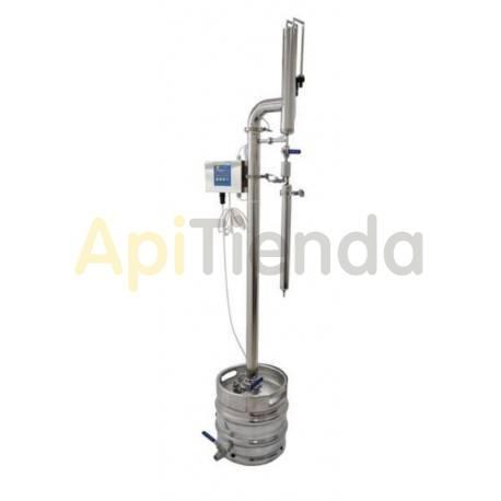 Destilador calefactado de 3 kW
