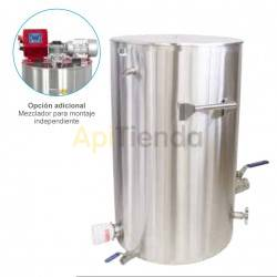 "100kg stainless heated ripener with handles, Power 2kW100kg 5/4"" stainless steel heated ripener with handles100 kg stainless rip"