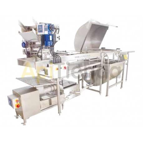Líneas PROFESIONALES Línea de extracción profesional OPTIMA,  40 cuadros Línea de extracción profesional OPTIMA consiste: -Deso