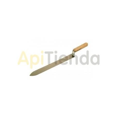 Cuchillo inox. liso-dentado Lyson