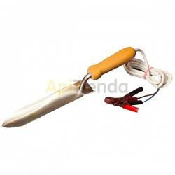Desoperculado Electrocuchillo 12V (220V) 230mm Cuchillo de desopercular eléctrico de 12V/220V, fabricado en acero inoxidable 23
