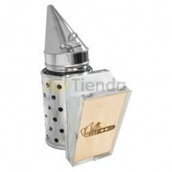 Ahumadores Ahumador inox con proteccion 31 cm BeeTools Ahumador fabricado en acero inoxidable Con protección, fuelle cuero Cal