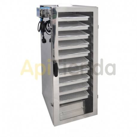 Secaderos y limpiadoras de polen Secadero de polen 10 cajones Dimensiones exteriores: ancho: 430mm altura: 1280mm profundidad