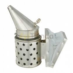 Ahumadores Ahumador galvanizado con proteccion 24cm  BeeTools Ahumador fabricado en chapa galvanizada Fuelle de cuero Con prot