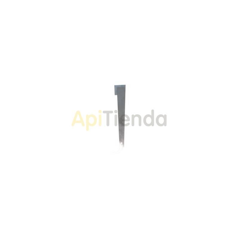 Material  Espatula americana inox sin mango 270 mm Espátula americana fabricada en acero inoxidable 270 mm de largo BeeTools -