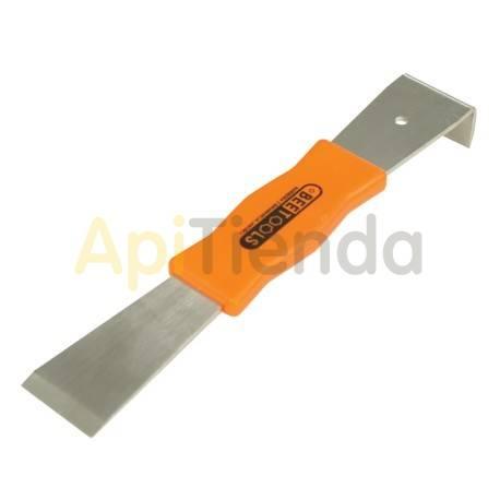 Espátulas, cepillos y levantacuadros Espátula inox con mango 260 mm BeeTools - heramientas de gran calidad