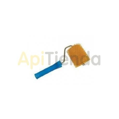 Desoperculado Rodillo de púas en plástico Rodillo para desopercular fabricado integramente en plástico alimentario. Especialmen