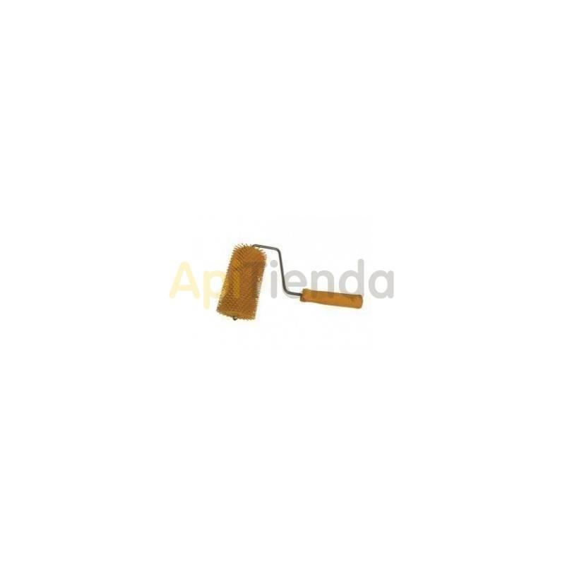 Desoperculado Rodillo de púas en plástico, Grande.   Rodillo para desopercular fabricado integramente en plástico alimentario.