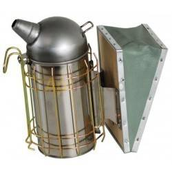 Ahumador inox con proteccion