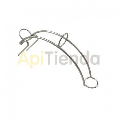 Recambios y accesorios Soporte manguera Ø 50 mm inoxidable Soporte para manguera de diámetro 50 mmFabricado en acero inoxidableE