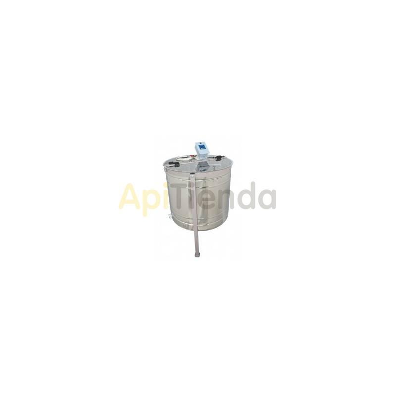Extractores Extractor 4 cuadros Dadant , reversible 12 V MINIMA  Extractor reversible, eléctrico 4 cuadros Dadant. Mínima Fabr