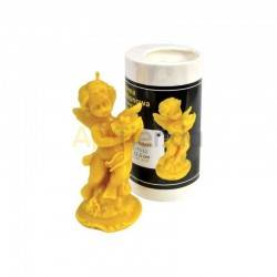 Moldes Molde Angel Molde de silicona para elaborar las velas de cera de abeja Forma de Angel Altura 115 mm Gasto 65g de cera