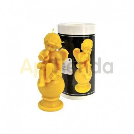 Moldes Molde Cupido Molde de silicona para elaborar las velas de cera de abeja Forma de Cupido Altura 145 mm Mecha 3x10 Gas