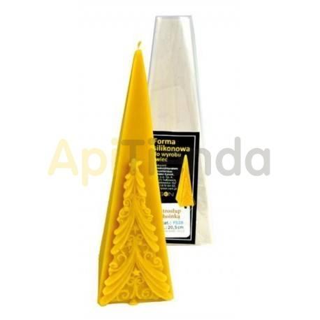Molde Pirámide con abeto
