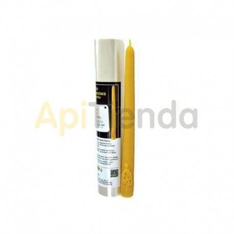 Moldes Molde Vela lisa con abeto Molde de silicona para elaborar las velas de cera de abeja Forma - Vela lisa con abeto Altu
