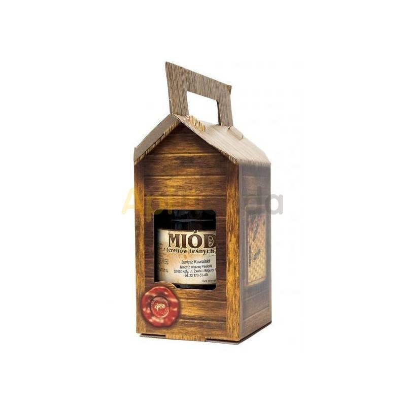 Cajas de cartón Caja decorativa para un bote de 1 kg, (10 unidades) Caja decorativa para un frasco con celdilla de 700ml/ 1kg