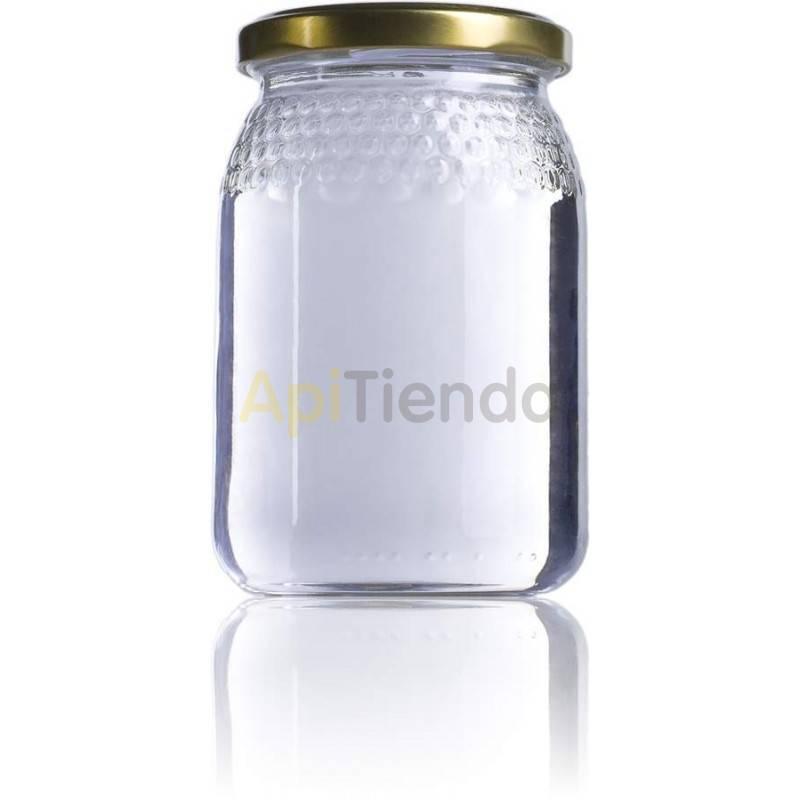 Botes de  cristal celdilla 1/2 kg,  PALET 2097 uds